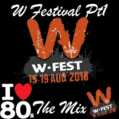 W Festival Logo Mixcloud Mix